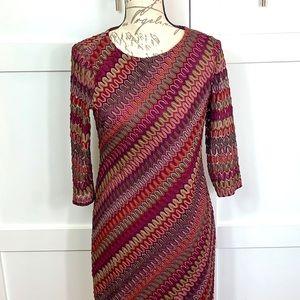 Vintage Inspired 1970 dress